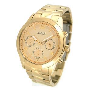 Guess Women's U13578L1.Stylish Chronograph Gold Tone Stainles-Steel Quartz Watch.100m Resist