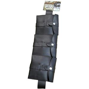 Brown Steampunk Utility Pouch Belt Costume Accessory