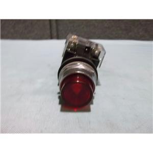 Used Siemens 52PE4D2 Red Pilot Light 24 Volt