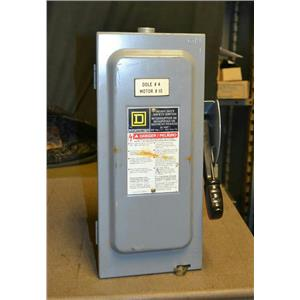 Square D HU361EI 30A Single Throw Non-Fusible Safety Switch, 600V