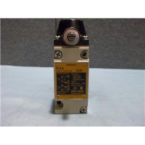 Used Omron D4A-0900 Limit Switch 15Z9R 600vac Max NEMA B600 Type3,4,& 13