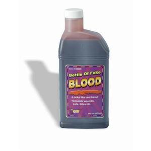 Pint Bottle of Fake Blood 16oz