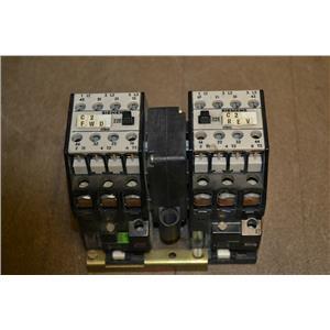 Siemens 3TD4210-OB Reversing Contactor, 110V Coil Voltage, 30A, 3TB4217-6E