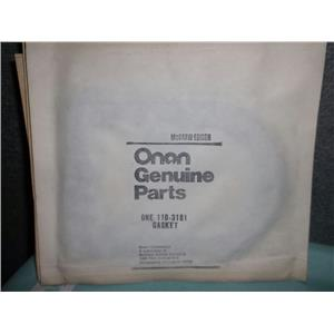 Lot of 5 Onan 110-3181 Gaskets