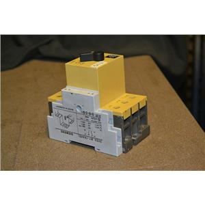 Siemens 3VE3000-8MA00 Starter, 12,5-20A, I> 240A, with 3VE9301-1AA00 Aux switch