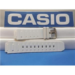 Casio Watch Band BGA-150 -7 White Baby-G Strap. Also Fits BGA-151, BGA-152