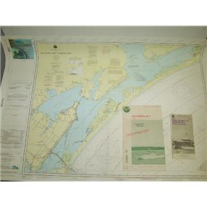 Boaters' Resale Shop Of Tx 1.10 NOAA PAPER NAUTICAL NAVIGATIONAL CHARTS