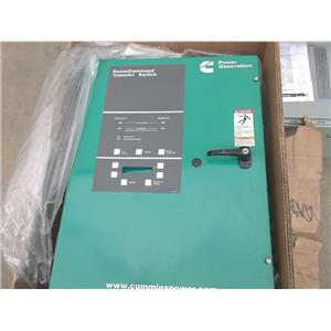 New Cummins OTPCA-4067121 PowerCommand Transfer Switch 125 amps 480V 3 Poles
