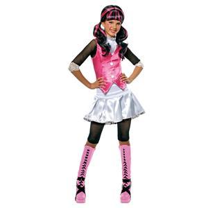 Monster High Girls Draculaura Child Costume Size Large 12-14
