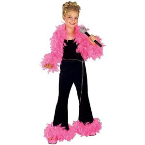 Deluxe Glamour Diva Child Costume Size Small 4-6