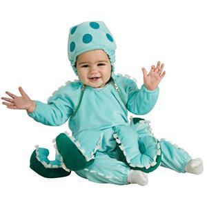 Rubie's Costume Deluxe Octopus Newborn Baby Costume 0-6 months