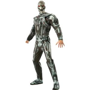 The Avengers: Ultron Deluxe Adult Costume Size XL 44-46