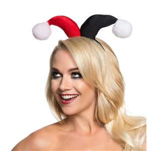 Women's Harley Quinn Headband Costume Accessory