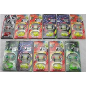 11 x Logitech Ultimate Ears Noise-Isolating Earphones Assorted Colors