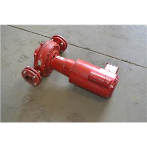BELL-GOSSETT 80 INLINE PUMP 3X7 625S, 1PH, 120/208-230V, with Flanges