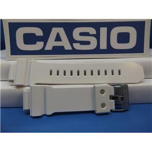 Casio Watch Band GD-X6900 FB-7V White G-Shock. Shiny Watchband. Strap