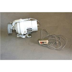 Intersew Industrial Sewing 1/2HP Clutch Motor, 1 phase, 5.8A, 110V with control