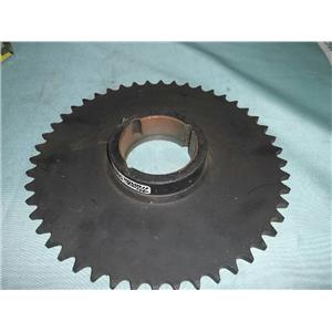 """New Martin 50BTB48 Sprocket #50 Chain 48 Tooth 2-3/4"""" Bore x 1-1'4"""" Thickness"""