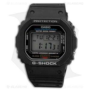 Casio DW-5600E-1VCT Traditional G-Shock.200M Water Resist. DW-5600 E Black Watch