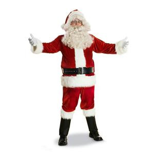 Sunnywood Men's Deluxe Santa Claus Suit Christmas Costume Large (48-50)