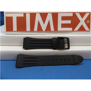Timex Watch Band 1440 Sports Strap Black Resin Original Watchband