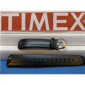 Timex Watch Band Unknown Acqua Black Ladies Sports Strap. Watchband