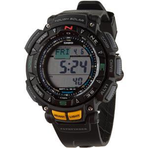 Casio Men's PAG240-1. Pathfinder. Solar Watch: Compass, Altimeter, Barometer