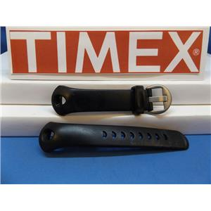 Timex Watch Band T17601 iControl Indiglo Black Resin Strap.Watchband