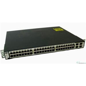 Cisco WS-C3750-48PS-E Catalyst 3750 48-ports 10/100 PoE & 4 SFP Uplinks Switch