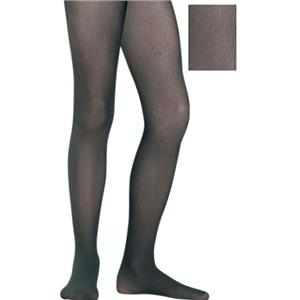 Black Child Seamless Tights Pantyhose Accessory Size 3-6 Small