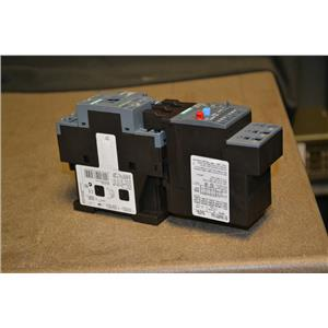 Siemens 3RT2025-2AC20 Contactor, 24V, 60Hz, 3RU2126-4BC0 Thermal Overload Relay