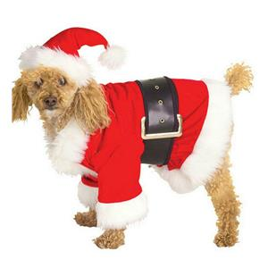 Rubies Costume Santa Claus Pet Dog Costume Size Medium