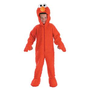 Sesame Street Toddler Deluxe Elmo Plush Costume Size 2-4