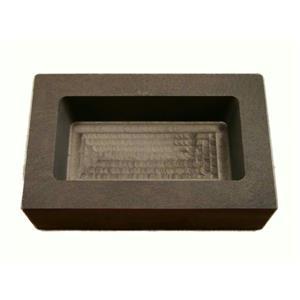 1 Kilo Gold Graphite Ingot Mold 1/2 Kilo Silver Bar-Loaf - 1000 Gram Gold Bar