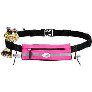 FuelBelt Slim Pocket Race Number Belt Pink