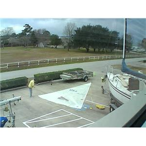 North Sails Mylar H O Jib w 27-0 luff  Boaters' Resale Shop of Tx 1601 1427.91