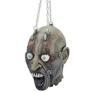 Cut Off Head in Chains Halloween Prop