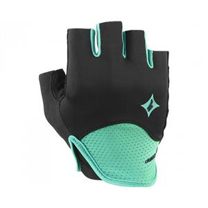 Specialized Women's SL Comp Cycling Gloves Black/green Large