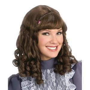 Scarlett Curly Brown Costume Wig
