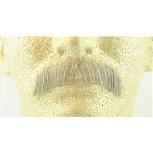 Light Gray 100% Human Hair Hippie Bandit 70s Basic Character Mustache 2015