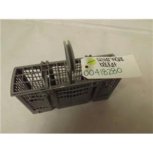 BOSCH DISHWASHER 00418280 SILVERWARE BASKET USED