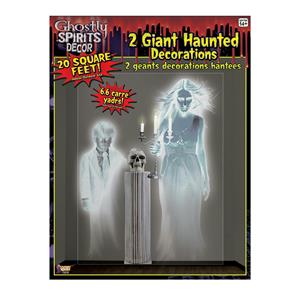 Ghostly Spirits Giant Wall Haunted House Halloween Ghost Decor