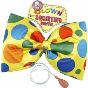 Jumbo Squirting Polka Dot Clown Bow Tie