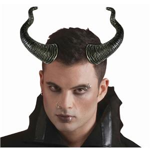 Wicked Black Horns Costume Accessory