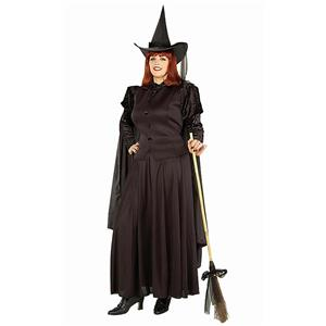 Plus Size Classic Evil Wicked Witch Full Figure Costume XL to 22