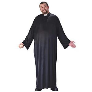 Big and Tall Men's Keep up the Faith Naughty Priest Plus Size Adult Costume