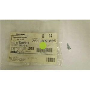 MAYTAG WHIRLPOOL DISHWASHER 33002917 25-7435 SCREW NEW