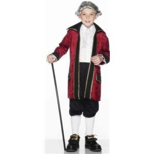 Smiffy's Children's Ben Franklin Child Costume Size Small Ages 3-5