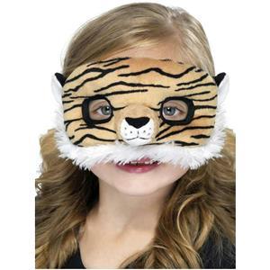Kids Tiger Plush Eye Mask Eyemask