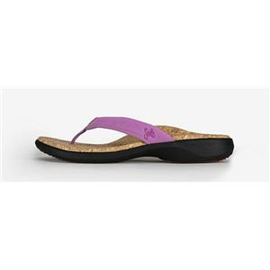 Sole Flip Flops Cork Orchid Purple Women's 7